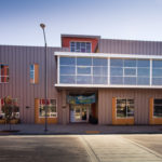 View of the front of The West Village project, a net zero project at UC Davis